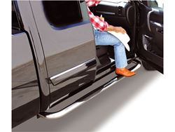 Go Rhino 4000 Series SideSteps Step Bars - Polished