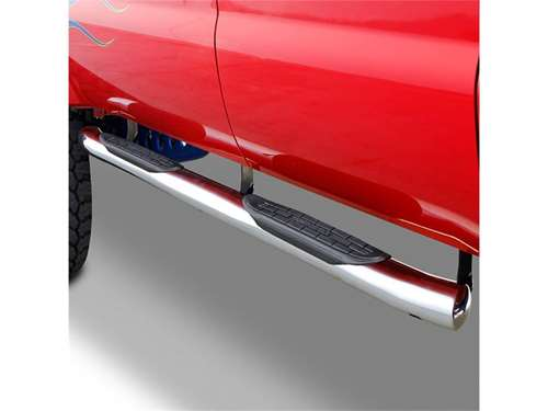 "Go Rhino 415 Series 4"" SideStep Nerf Bars - Polished Stainless Steel"