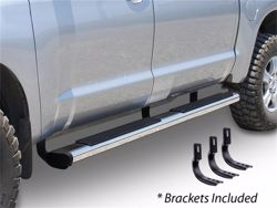 Go Rhino 6 in. OE Xtreme Composite SideStep Nerf Bars - Polished Stainless