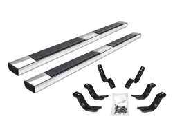 Go Rhino 6 in. OE Xtreme II SideStep Nerf Bars - Polished Stainless Steel