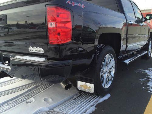 Dsi Automotive Truck Hardware Gatorback Mud Flaps Chevy Gold Bowtie