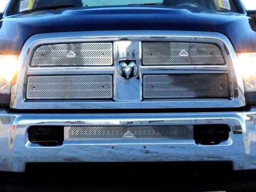 Summer Grille/Bumper Insert Combo - Stainless Steel