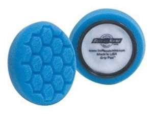 """Picture of 4"""" Blue Foam Hex Pads; Pair"""