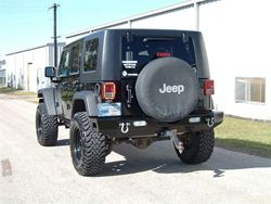 Ranch Hand Jeep Rear Bumper