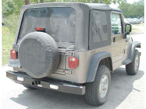 Ranch Hand Jeep Rear Bumper