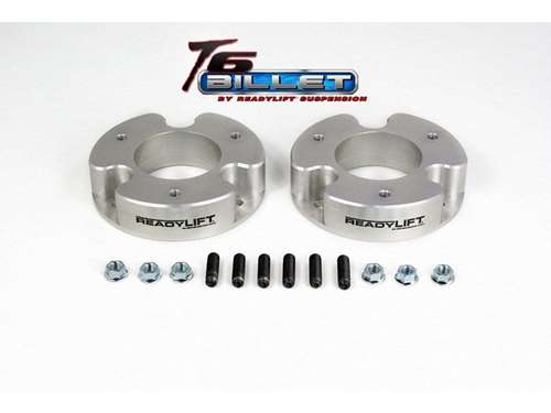 ReadyLift T6 Billet Aluminum Leveling Kits - Silver