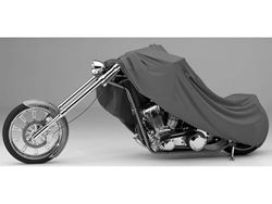 Picture of Form-Fit Motorcycle Cover - Charcoal - Large Sport Bikes - w/or w/o Faring/Windshield/Saddle Bags