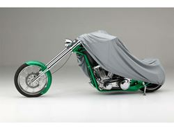 Picture of Form-Fit Motorcycle Cover - Black - Large Sport Bikes - w/or w/o Faring/Windshield/Saddle Bags