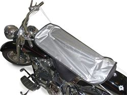 Picture of Seat Shield - Silver Urethane - Fits Motorcycles/ATVs And Scooters