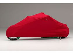 Picture of Form-Fit Motorcycle Cover - Red - Full Dress Tourer - w/Faring/Windshield/Saddle Bags/Backrest/Sissy Bar/Travel Chest