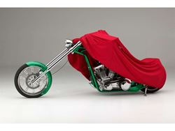 Picture of Form-Fit Motorcycle Cover - Red - Large Sport Bikes - w/or w/o Faring/Windshield/Saddle Bags