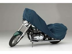 Picture of Form-Fit Motorcycle Cover - Green - Large Cruiser - w/or w/o Faring/Windshield/Saddle Bags/Backrest/Sissy Bar