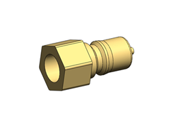 Male Quick Connector - 1/4