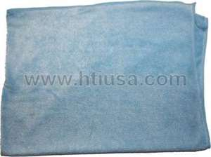 "Picture of Plush Jumbo Microfiber Towel - Blue 24"" x 33"""