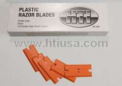 Picture of Double Edge Plastic Razor Blades-100/box