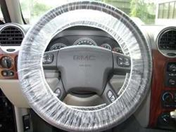 Picture of Plastic Steering Wheel Covers - 500 Count