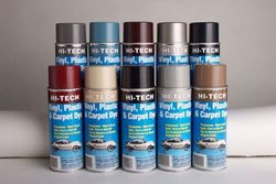 Hi-Tech Vinyl, Plastic & Carpet Dyes Spray Dyes