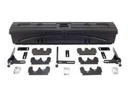 Picture of DU-HA Humpstor All In One Storage Unit - For Trucks w/Toppers - Incl. Gun Rack/Organizer - Black