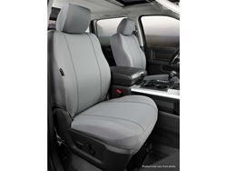 Picture of Seat Protector Semi Custom Seat Cover - Gray - Front - Bucket Seats - Adjustable Headrests
