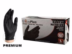 Ammex Black Nitrile Gloves