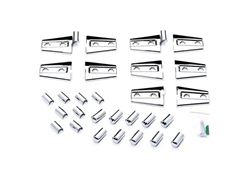 Putco Jeep Chrome Door Hinge Covers
