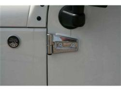 Putco Jeep Chrome Door Hinge Covers