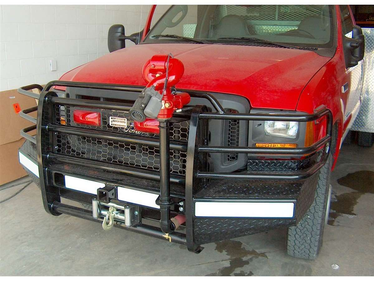 Car Floor Liners >> DSI Automotive - Ranch Hand Winch Ready Grill Guard