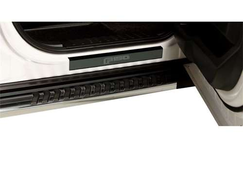 Putco Ford Licensed Black Platinum Door Sill Protectors