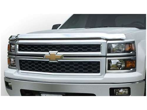 Stampede Chrome Hood Protector