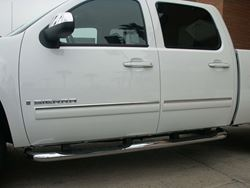 Pro-Trim Chrome Door Moldings Trim