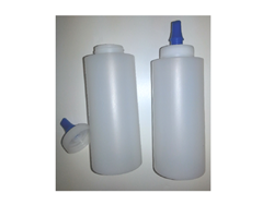 Wax Bottle w/Ribbon Spout-12oz