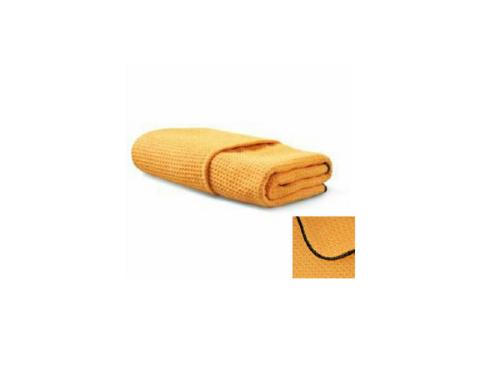 "Waffle Weave Microfiber Towel: 23.5"" x 40"""