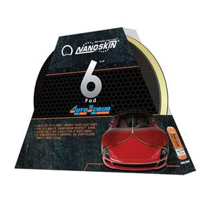 6 in. Auto Scrub Pad - for DA Polishers