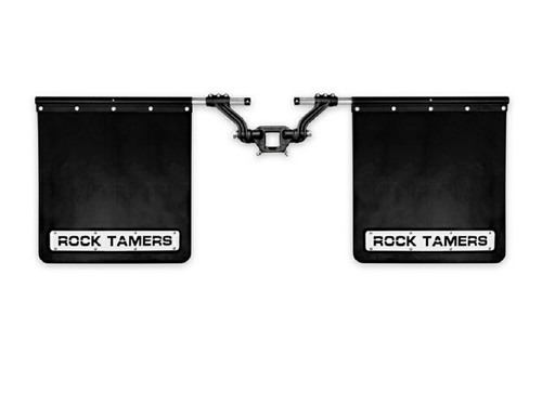 "Rock Tamers 2"" Hub Towing Mudflap System"