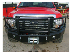 Iron Cross Grille Guard & Bumper Replacement