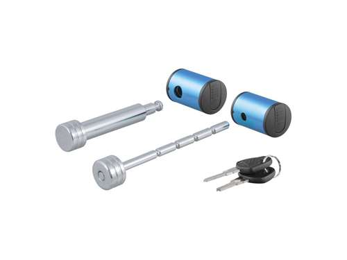 Picture of Right Angle Hitch And Coupler Lock Set - 5/8 in. Hitch Lock Pin Fits 2 in. Receiver Tubes