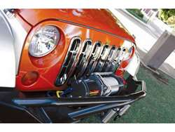 Rampage Chrome Grille Inserts