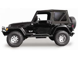 Rampage Complete Soft Top Kit w/ Hardware
