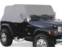 Rampage Jeep Wrangler Custom Car Cover