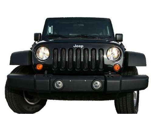 Rampage Jeep Wrangler 3D Mesh Grill