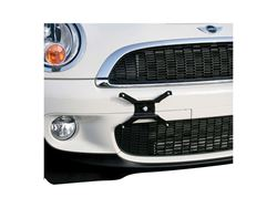 Picture of Universal License Plate Bracket - Includes Mounting Hardware - Black Powdercoat - DISCONTINUED