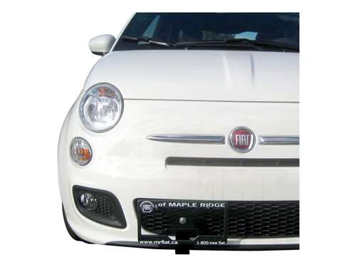 Picture of Grille Guard License Plate Bracket - Front - Black Powder Coat