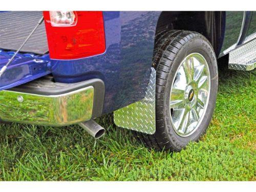 Dee Zee Brite Tread Aluminum Mud Flaps