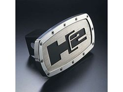 Picture of Trailer Hitch Cover - H2 - Aluminum - Polished
