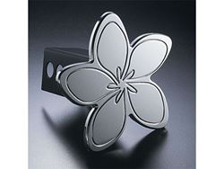 Picture of Trailer Hitch Cover - Hula Meria - Aluminum - Polished