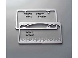 Picture of License Plate Frame - Brushed - Plain - Narrow Frame - Universal