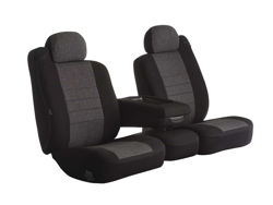 Picture of Oe Universal Fit Seat Cover - Tweed - Charcoal - Bucket Seats - High Back - Heritage Series