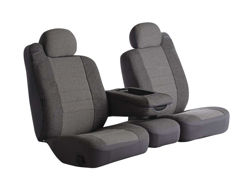 Picture of Oe Universal Fit Seat Cover - Tweed - Gray - Bucket Seats - High Back - Heritage Series