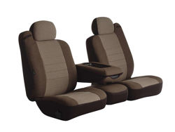 Picture of Oe Universal Fit Seat Cover - Tweed - Taupe - Bucket Seats - High Back - Heritage Series