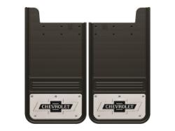 GatorBack Mud Flaps Classic Chevrolet Logo - 12x23